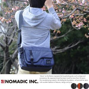 NOMADIC ノーマディック ショルダーバッグ メンズ ターポリン A4 防水 TP-33|t-style