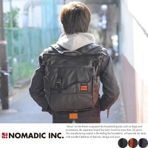 NOMADIC ノーマディック 3wayトートバッグ メンズ ターポリン A4 防水 リュック TP-34|t-style