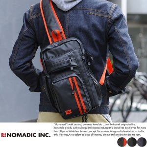 NOMADIC ノーマディック ワンショルダーバッグ メンズ ターポリン A4 防水 TN-01|t-style