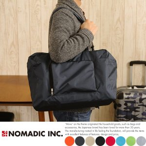 NOMADIC ノーマディック 折りたたみ軽量ボストンバッグ Mサイズ 旅行 1泊 2泊 メンズ FO-32|t-style