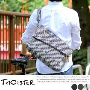 TRICKSTER × BodyButter デニムショルダーバッグ メンズ 日本製 ERIC-Denim t-style