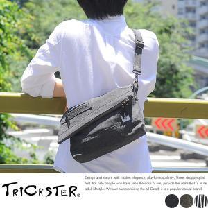 TRICKSTER × BodyButter デニムミニショルダーバッグ メンズ 日本製 MARTIN-Denim|t-style