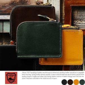 栃木レザー L字ファスナー短財布 メンズ 日本製 本革|t-style