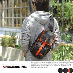 NOMADIC ノーマディック 縦型ボディバッグ メンズ iPad mini 軽量 CU-02|t-style