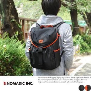 NOMADIC ノーマディック 軽量バックパック メンズ デイパック SE-01|t-style