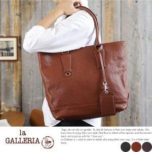 青木鞄 la GALLERIA レザートートバッグ メンズ 本革 A4 レザー|t-style