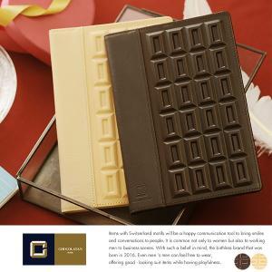 CHOCOLATAN B6ノートカバー メンズ 本革 日本製 ショコラタン|t-style