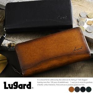 青木鞄 メンズ 長財布 ラウンドファスナー 本革 大人 ビジネス カード 大容量 多い Lugard G-3 t-style