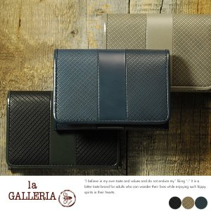 青木鞄 la GALLERIA 名刺入れ メンズ 本革 カードケース Linea No.2351|t-style