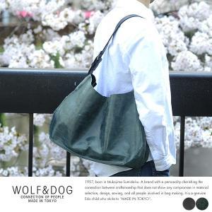 WOLF&DOG 馬革トートバッグ ホワイトホース|t-style
