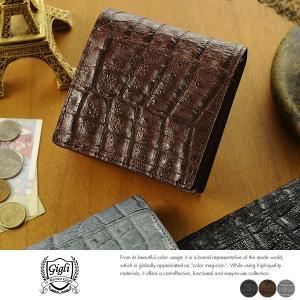 ROMEO GIGLI クロコダイル 二つ折り財布 小銭入れあり Henglong Crocodile t-style
