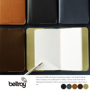 Bellroy ミニノートカバー Notebook Cover|t-style