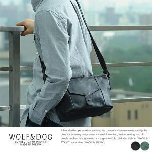 WOLF&DOG 馬革ミニショルダーバッグ ホワイトホース|t-style
