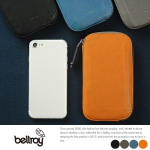 bellroy 防水革スマートフォンウォレット iPhone7対応 All Conditions Leather Phone Pocket|t-style