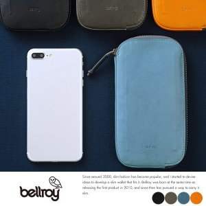bellroy 防水革スマートフォンウォレット iPhone7 Plus対応 All Conditions Leather Phone Pocket Plus|t-style