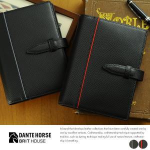 BRIT HOUSE カーボンレザーシステム手帳 A5サイズ Carbon Split Leather|t-style