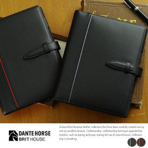 BRIT HOUSE カーボンレザーシステム手帳 バイブルサイズ Carbon Split Leather|t-style