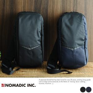 NOMADIC リフレクター付き撥水ワンショルダーバッグ|t-style