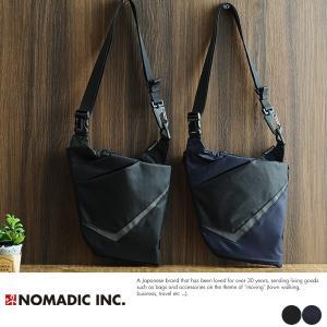 NOMADIC モノ・マガジンコラボ ウェアラブル2wayリフレクター付き撥水ワンショルダーバッグ|t-style