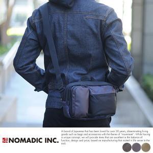 NOMADIC ミニショルダーバッグ メンズ ナイロン PM02|t-style