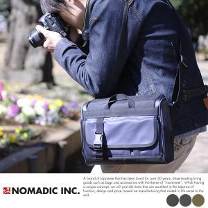 NOMADIC カメラショルダーバッグ 一眼レフ ミラーレス メンズ CA-51|t-style
