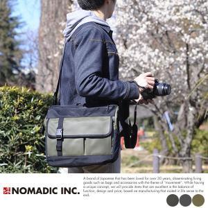 NOMADIC カメラショルダーバッグ 一眼レフ ミラーレス メンズ CA-52|t-style