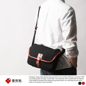 豊岡鞄 直帆布 ミニショルダーバッグ RED COLLECTION|t-style