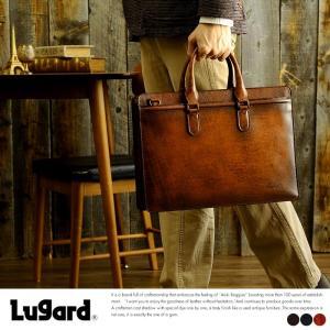 青木鞄 Lugard 本革ビジネスバッグ メンズ A4 日本製 G-3 No.5228|t-style