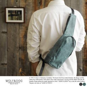 WOLF&DOG 馬革ワンショルダーバッグ 日本製 小さめ 本革 レザー 5003|t-style