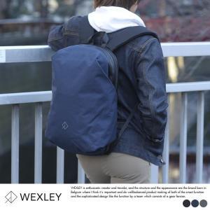 WEXLEY 防犯リュック メンズ バックパック パソコン スキミング防止 ナイロン WUBP1301|t-style