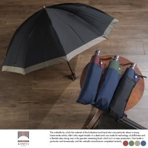 小宮商店 高級 折りたたみ 傘  日本製 メンズ 傘 10本骨 60cm ゲンテン 甲州織  ラッピング 可|t-style