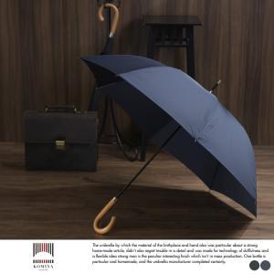 小宮商店 ジャンプ傘 高級 雨傘 日本製 メンズ ワンタッチ 開閉 ミラトーレ 超撥水生地 65cm 8本骨|t-style