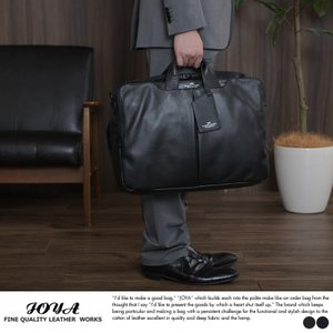 JOYA 防水牛革 3wayビジネスバッグ t-style
