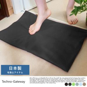 バスマット 珪藻土 日本製 Techno-Gateway ふわふわ 足拭き バスクッション トリリア...
