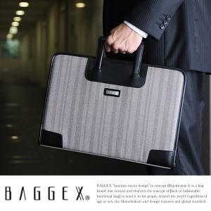 BAGGEX ビジネスバッグ メンズ クラッチバッグ 豊岡鞄 A4 薄マチ|t-style