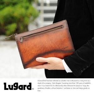 青木鞄 Lugard 本革セカンドバッグ メンズ 日本製 レザー A5|t-style