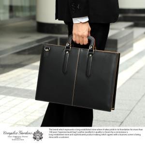 青木鞄 ビジネスバッグ 本革 メンズ A4 2way 枯淡 COMPLEX GARDENS 通勤 孤独のグルメ|t-style