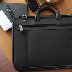 青木鞄 ブリーフケース メンズ ビジネスバッグ 軽量 A4 2way 薄マチ|t-style