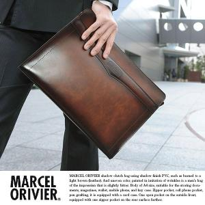 クラッチバッグ メンズ 日本製 A4 豊岡鞄 MARCEL ORIVIER|t-style