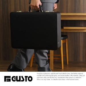 GUSTO ハードアタッシュケース A3対応 ダイヤルロック メンズ ビジネス t-style