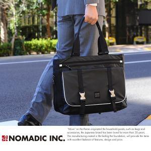 NOMADIC ノーマディック 出張ビジネスバッグ メンズ B4 大容量 BS-74|t-style