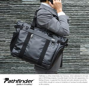 Pathfinder 防水ビジネストートバッグ メンズ B4 大容量 2way|t-style