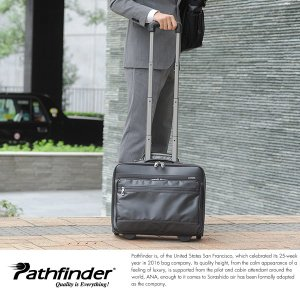 Pathfinder 防水ビジネスキャリーバッグ 機内持ち込み可能|t-style