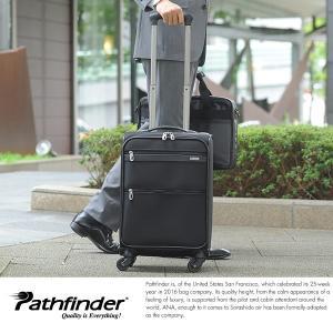 Pathfinder 四輪トロリーバッグ メンズ バリスティックナイロン 機内持ち込み可能|t-style
