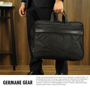 GERMANE GEAR 大容量ビジネスバッグ メンズ 出張 ナイロン A3ファイル対応 No.31129 t-style