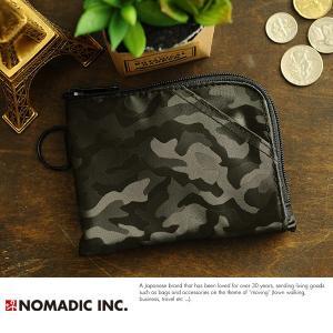 NOMADIC L-Zipper Wallet L字ファスナー財布 ブラック PA-14-07|t-style