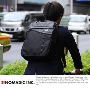 NOMADIC ノーマディック 撥水ビジネスリュック ブラック WV-02|t-style