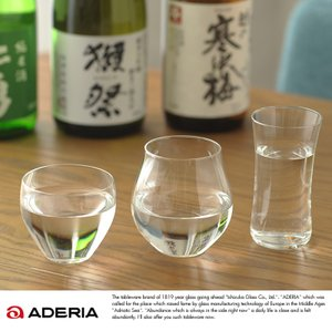 ADERIA 日本酒グラス 飲み比べ 3種セット Craft SAKE Glass S-6293|t-style