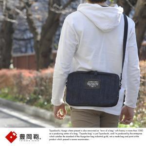 豊岡鞄 セルビッジデニム 2wayミニショルダーバッグ メンズ 日本製 クラッチバッグ 4109 S2012D|t-style