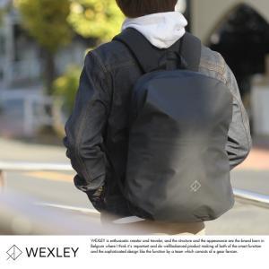 WEXLEY 防水防犯リュック メンズ バックパック パソコン スキミング防止 ナイロン WUBPBC01|t-style